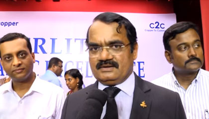 Padmashri Dr. Mylswamy Annadurai, Director – ISRO – Sterlite Scholastic Excellence Awards