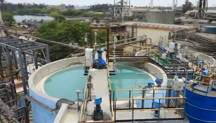 Sterlite Copper – Water Recycling System