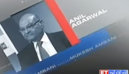 Vedanta Resources Chairman Anil Agarwal – ET Business Leader of the Year 2012